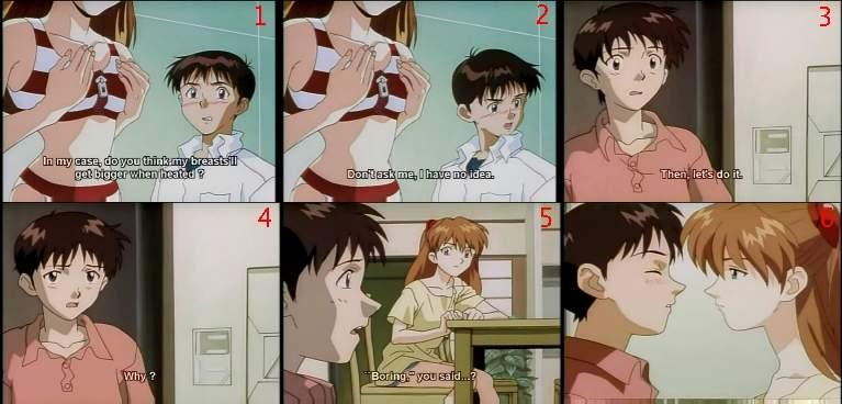 and sex Shinji auska