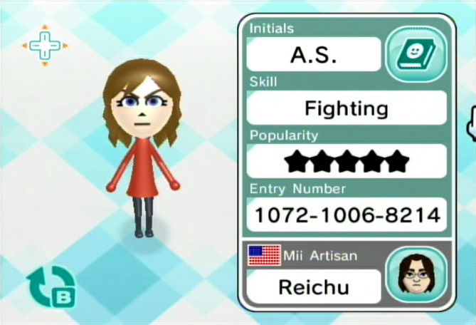 Any Mii Artisans Here?